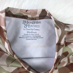High Heel Huntress Tops - High Heel Huntress Long Sleeve Performance Shirt